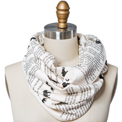 Jodi Picoult Book Scarf - Literary Scarf - Storiarts