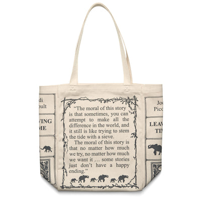 Leaving Time Book Tote