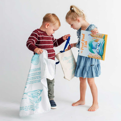 The Pout-Pout Fish Storybook Baby Blanket