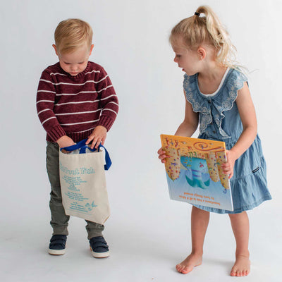 The Pout-Pout Fish Storybook Kids Tote