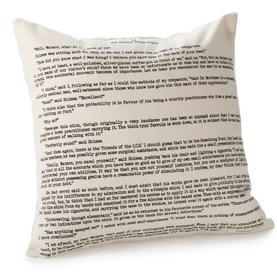 Sherlock Holmes Pillow Cover - Second Edition