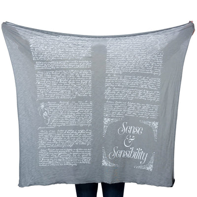 Sense and Sensibility Lightweight Literary Scarf
