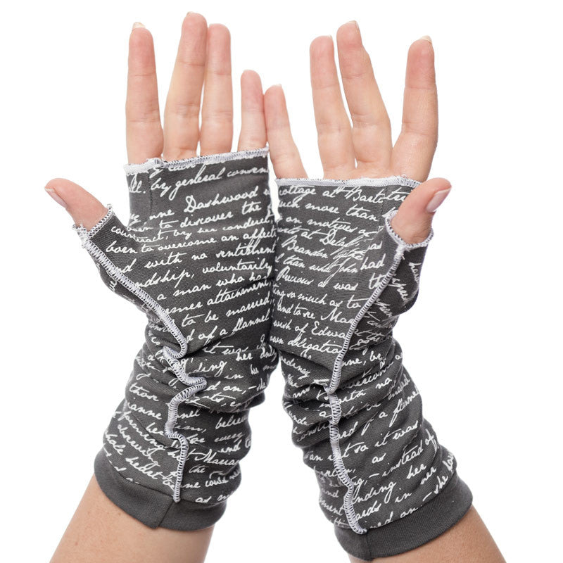 Sense and Sensibility Writing Gloves - Storiarts - 2