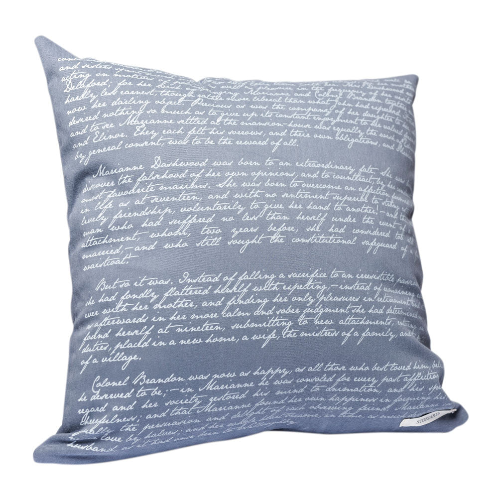 Sense and Sensibility Pillow Cover