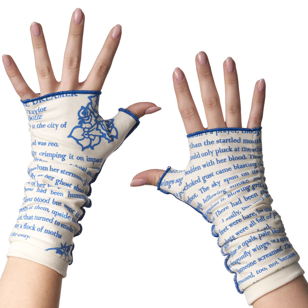 Strange the Dreamer Writing Gloves