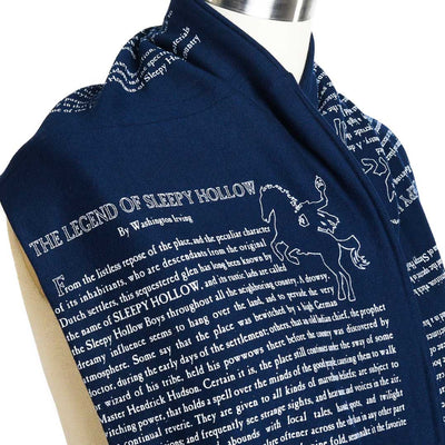 The Legend of Sleepy Hollow Book Scarf