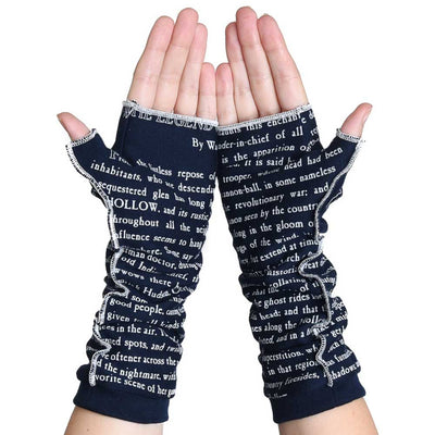 The Legend of Sleepy Hollow Writing Gloves