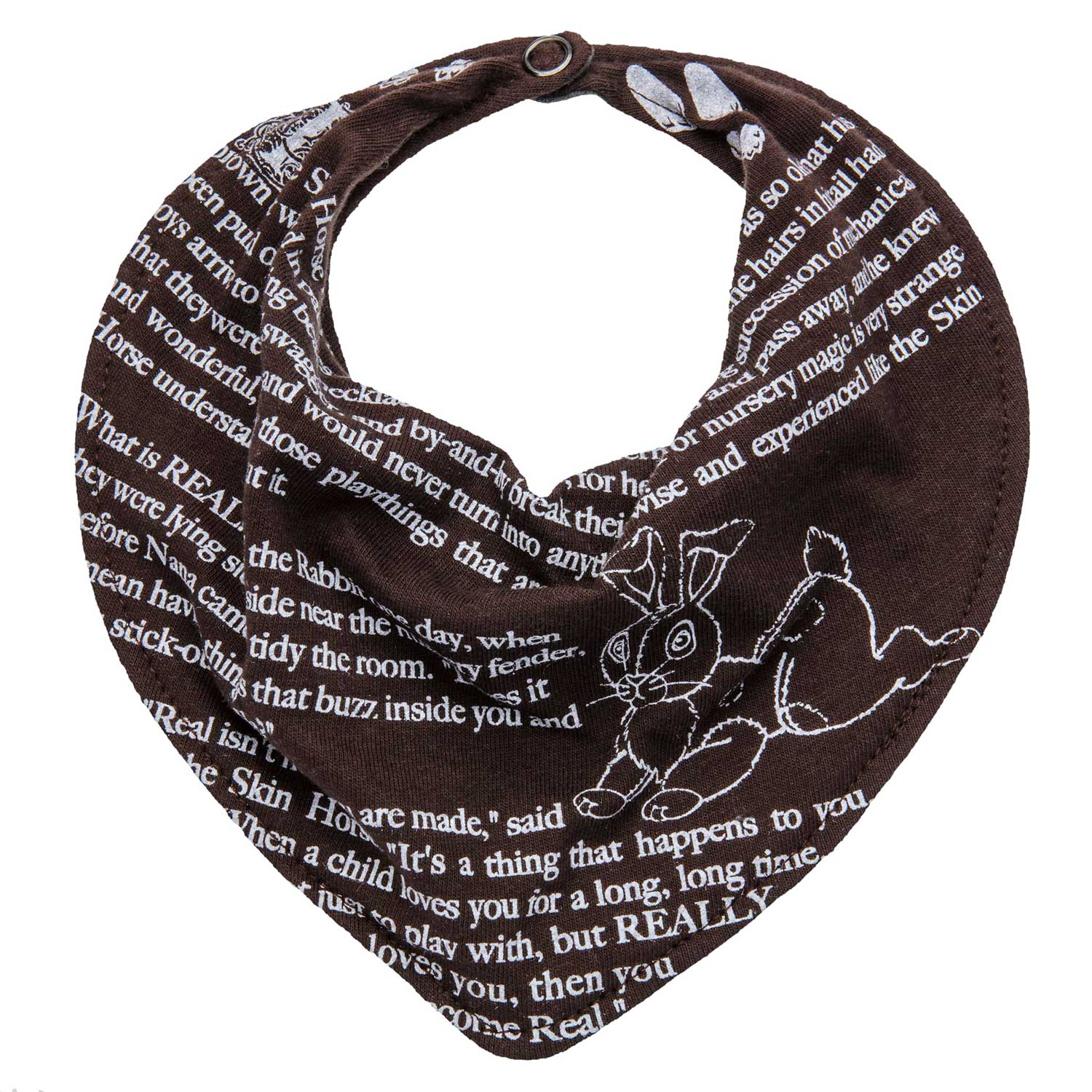 The Velveteen Rabbit Storybook Bib