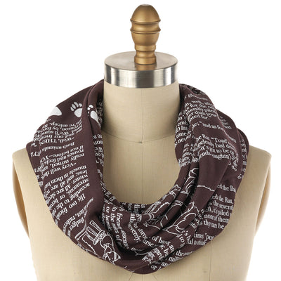 The Wind in the Willows Book Scarf