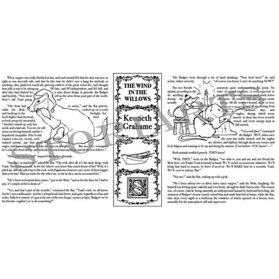 The Wind in the Willows Book Tote