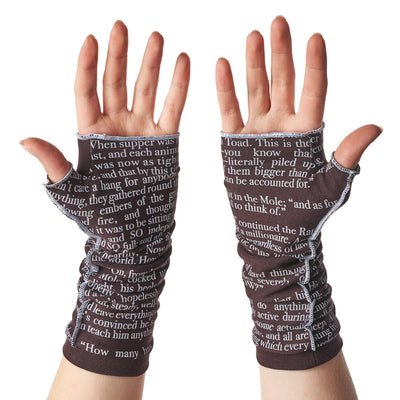 The Wind in the Willows Writing Gloves