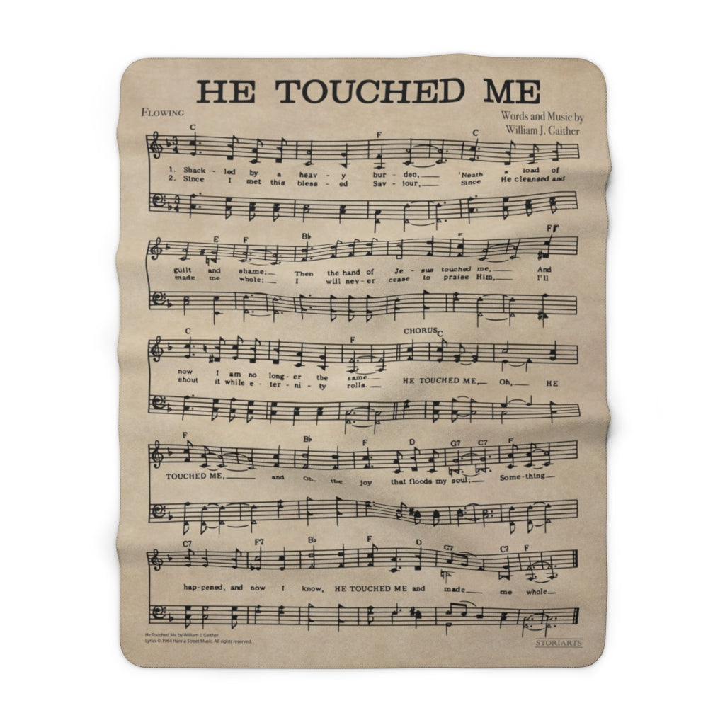 Gaither Music Blanket - He Touched Me