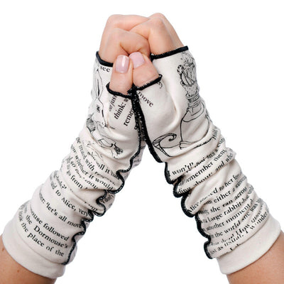Alice in Wonderland Writing Gloves - Storiarts - 2