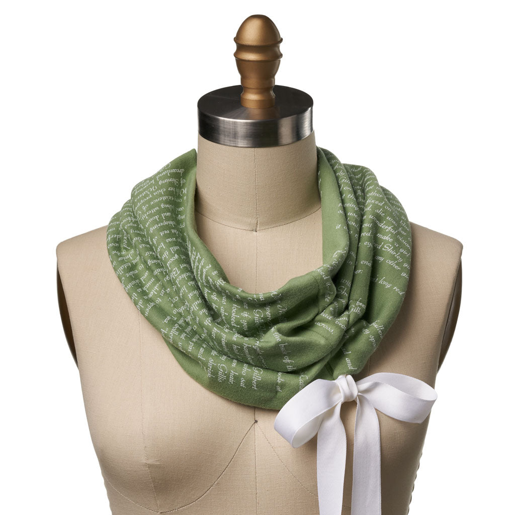 Anne of Green Gables Ribbon Book Scarf