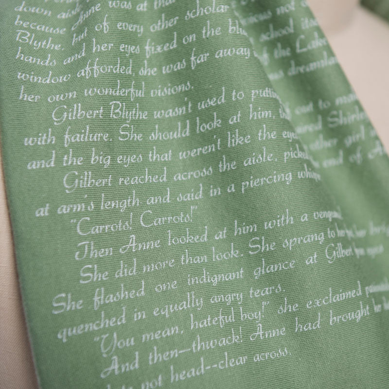Anne of Green Gables Book Scarf - Storiarts - 3