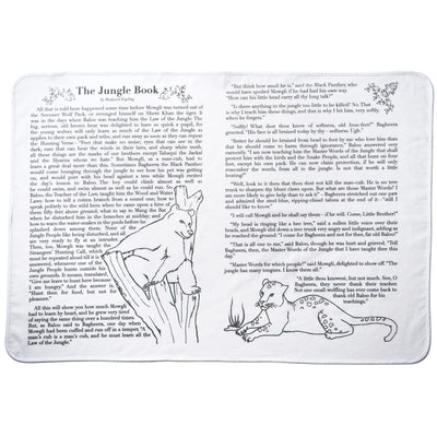The Jungle Book Storybook Baby Blanket