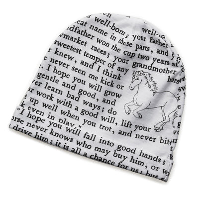 Black Beauty Storybook Baby Hat