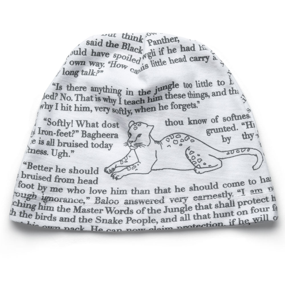 0249615f44e Jungle Book Storybook White   Black Infant Hat