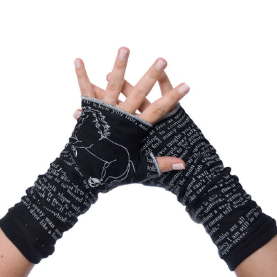 Black Beauty Writing Gloves