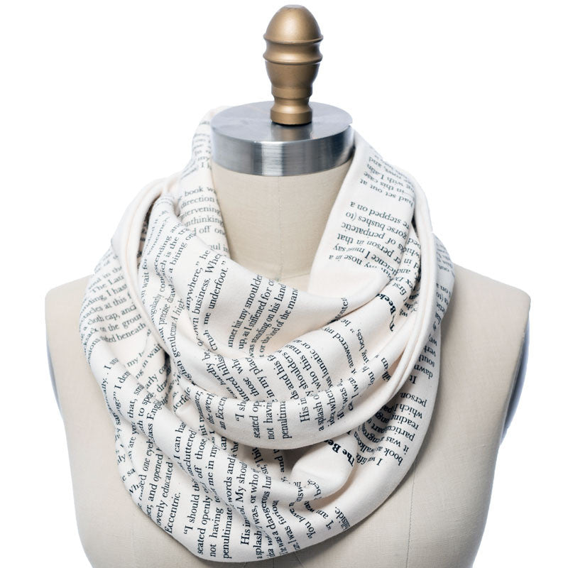 The Beekeeper's Apprentice Book Scarf - Literary Scarf - Storiarts - 1