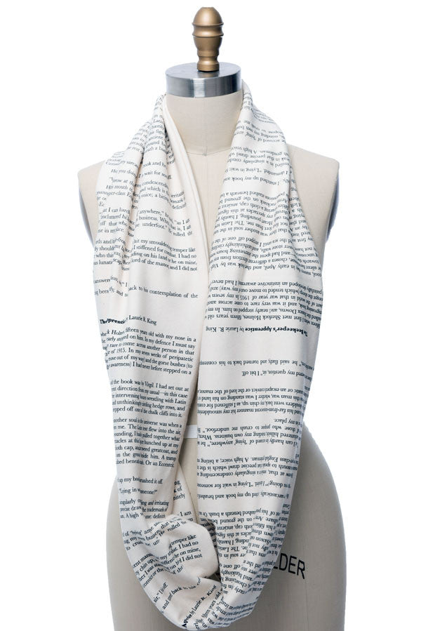 The Beekeeper's Apprentice Book Scarf - Storiarts - 3