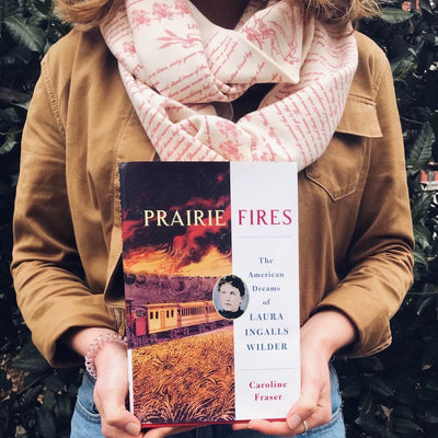 Little House on the Prairie Book Scarf