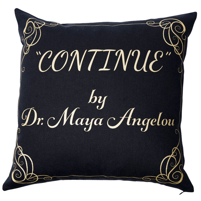 CONTINUE Pillow Cover