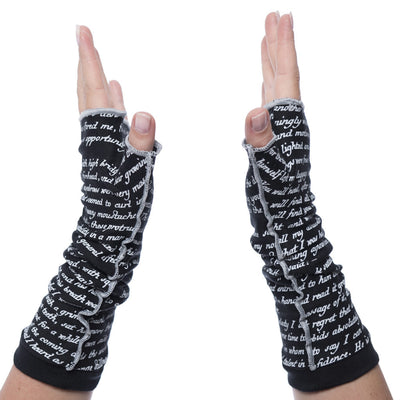 Dracula Writing Gloves