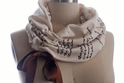 Romeo and Juliet Light Weight Summer Book Scarf - Storiarts - 2