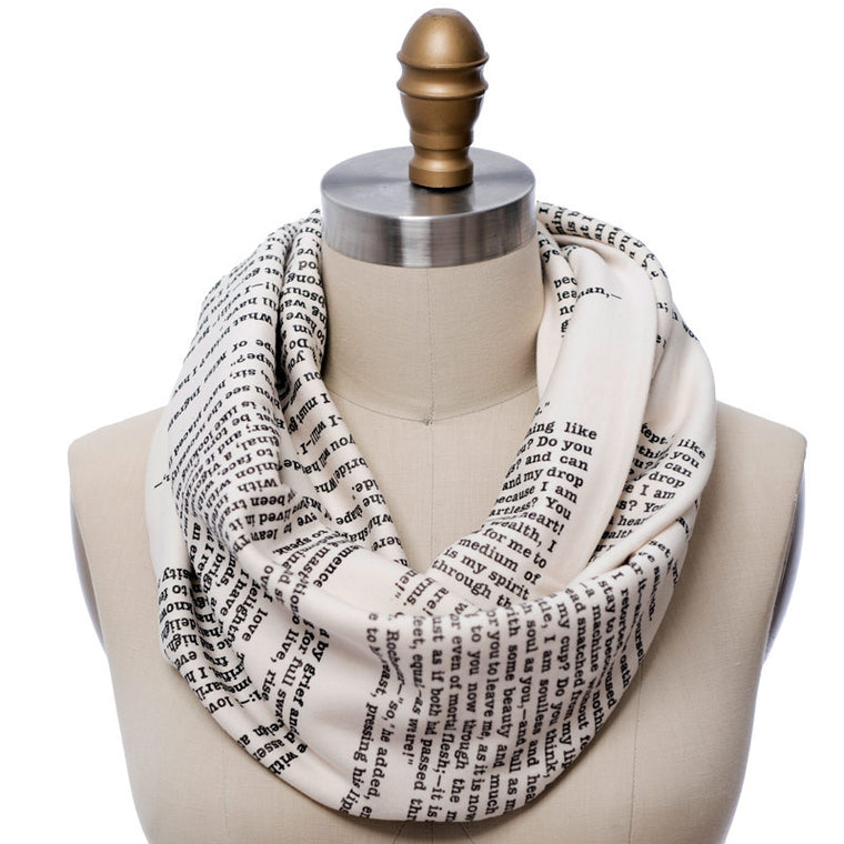 Jane Eyre Book Scarf - Storiarts - 1