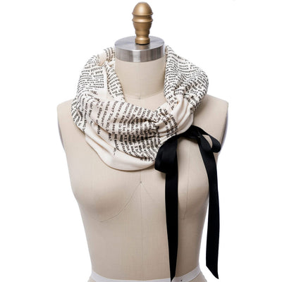 Jane Eyre Ribbon Book Scarf
