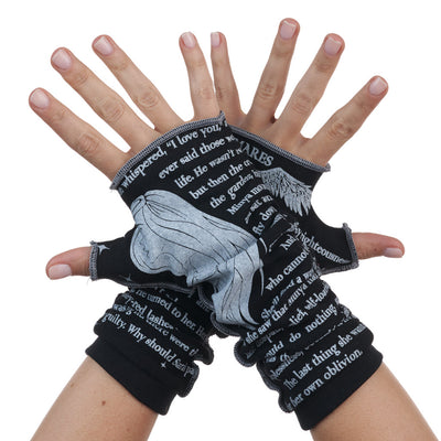 Muse of Nightmares Writing Gloves