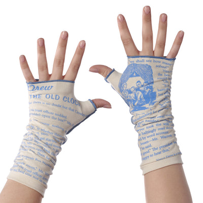 Nancy Drew Writing Gloves