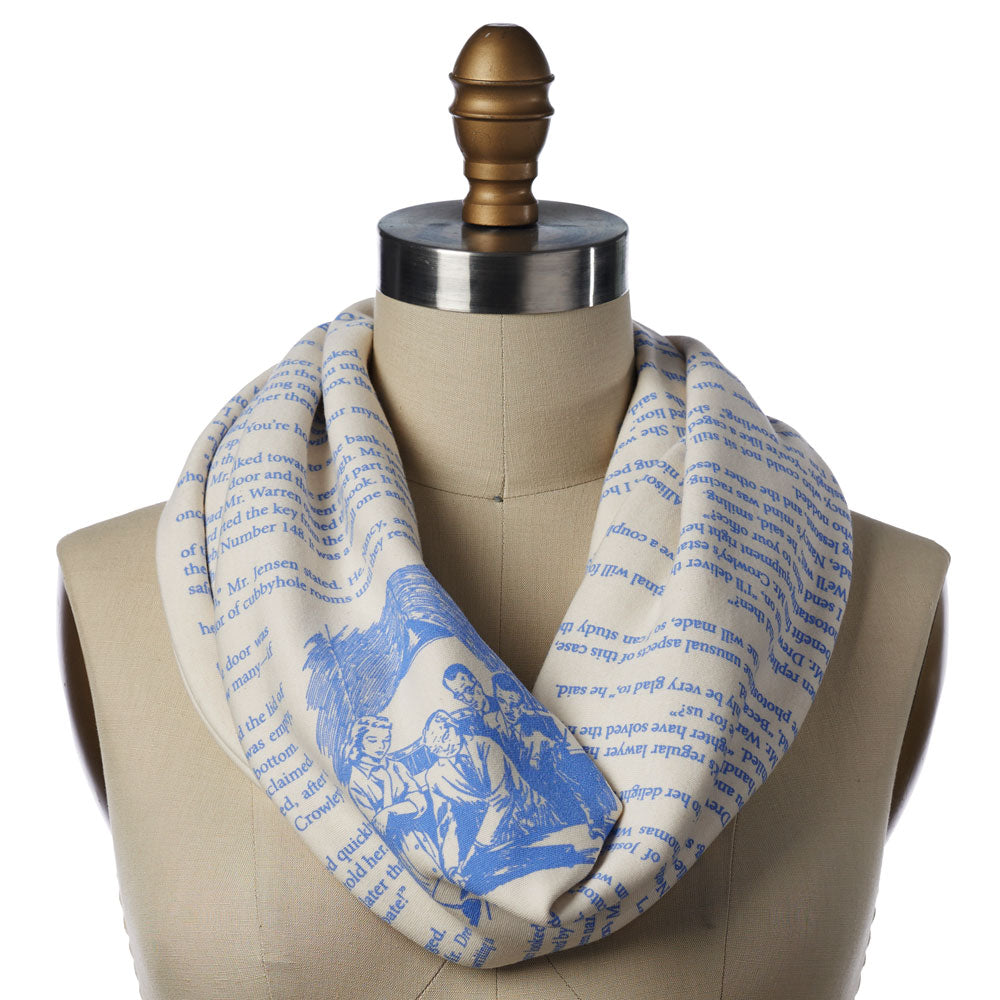 Nancy Drew Book Scarf