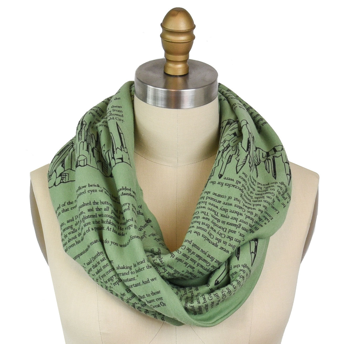 The Wonderful Wizard of Oz Book Scarf (Second Edition)