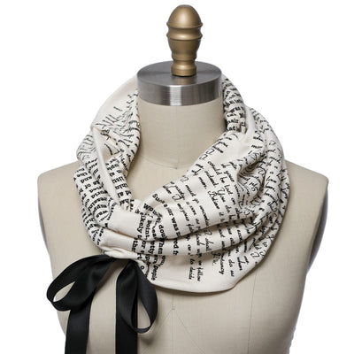 Persuasion Light Weight Summer Book Scarf - Storiarts - 1