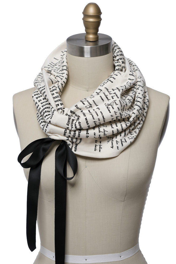 Persuasion Light Weight Summer Book Scarf - Storiarts - 2