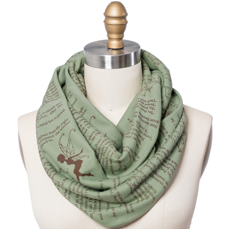 Peter Pan Book Scarf - Storiarts - 1