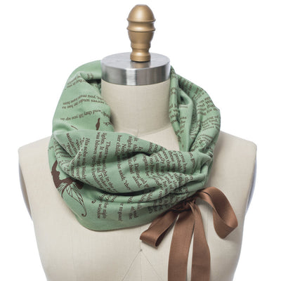 Peter Pan Summer Book Scarf - Storiarts - 1