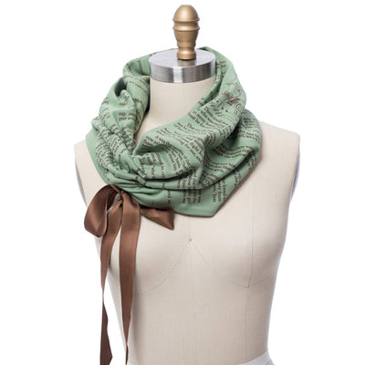 Peter Pan Ribbon Book Scarf