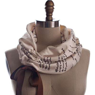 Romeo and Juliet Light Weight Summer Book Scarf - Storiarts - 1