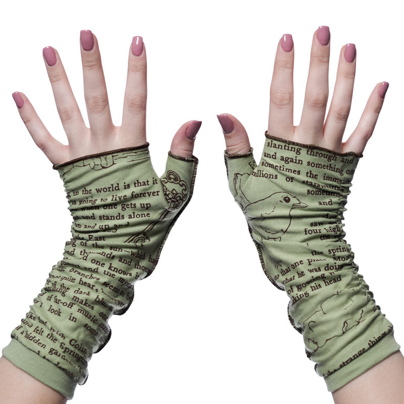 The Secret Garden Writing Gloves