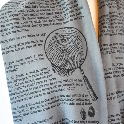 Sherlock Holmes Book Scarf (SECOND EDITION)