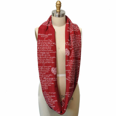 Shakespeare's Sonnets Scarf