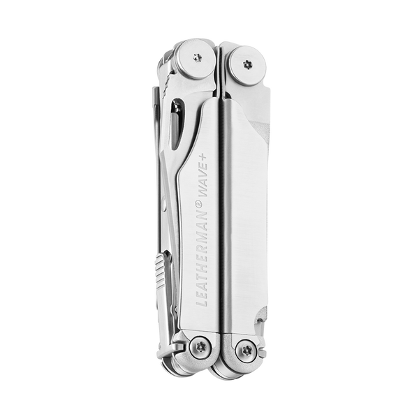 Leatherman 832531 Wave Plus Stainless Steel With Nylon Sheath - Made in the USA - Full Warranty
