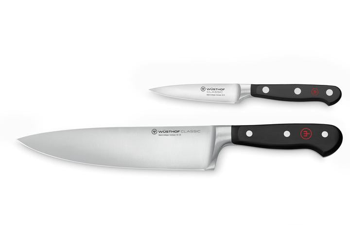 "Wusthof Classic 1120160206 Two Piece Starter Set w/ 8"" Chef & 3.5"" Pairing SG STOCK"