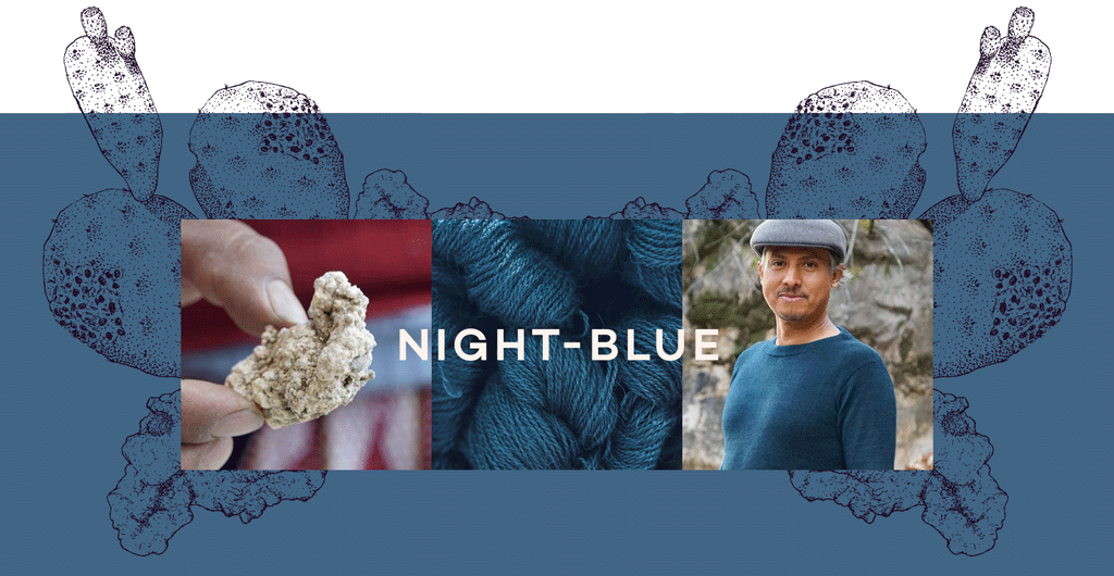 natural color night blue