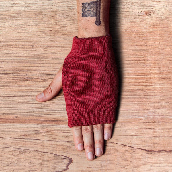 Handschuhe – RUBY-RED + STONE