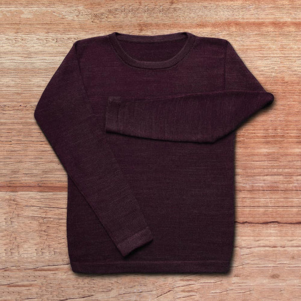 Sweater Women – AUBERGINE