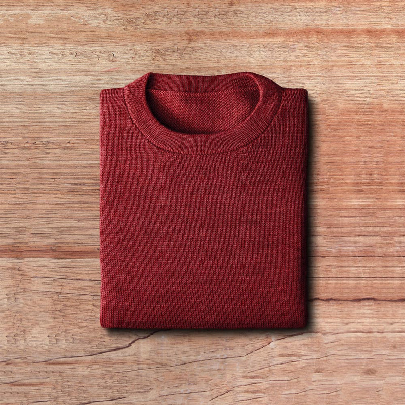 WOOD-BROWN – Pullover